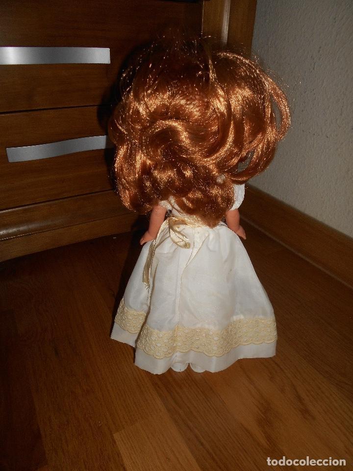 Muñecas Lesly de Famosa: Lesly pelirroja 10 PECAS flequillo de famosa de Comunión Buen estado años 70 - Foto 4 - 147846538