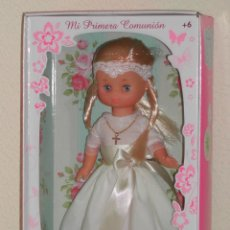 Muñecas Lesly de Famosa: LESLY COMUNION A ESTRENAR, EN CAJA. Lote 151546678