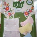 Muñecas Lesly de Famosa: BLISTER ROPA INTERIOR LESLY. Lote 155630186