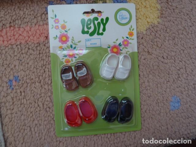 Muñecas Lesly de Famosa: Blister zapatos de Lesly. Famosa - Foto 3 - 177621130