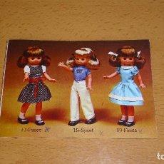 Muñecas Lesly de Famosa: ANTIGUO CATÁLOGO MUÑECA LESLY FAMOSA 1977 CON DEFECTOS. Lote 156820018