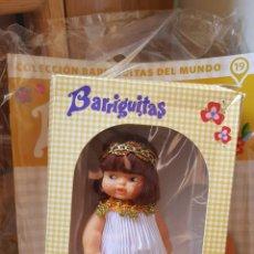 Muñecas Lesly de Famosa: MUÑECA BARRIGUITAS EGIPCIA CON FASCICULO. Lote 158304446
