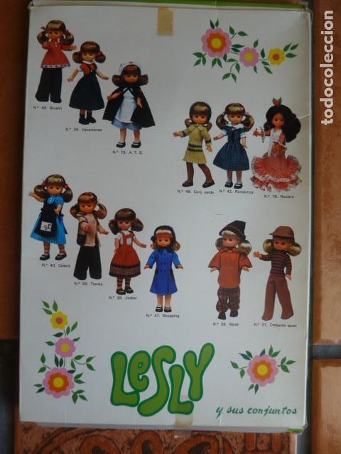 Muñecas Lesly de Famosa: Caja conjunto Lesly, vacía - Foto 3 - 160603690