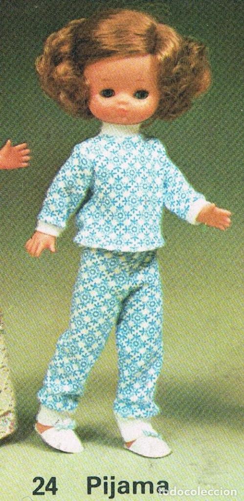 Muñecas Lesly de Famosa: LESLY SUETER CONJUNTO PIJAMA AÑOS 70 - ORIGINAL FAMOSA - Foto 4 - 163157026