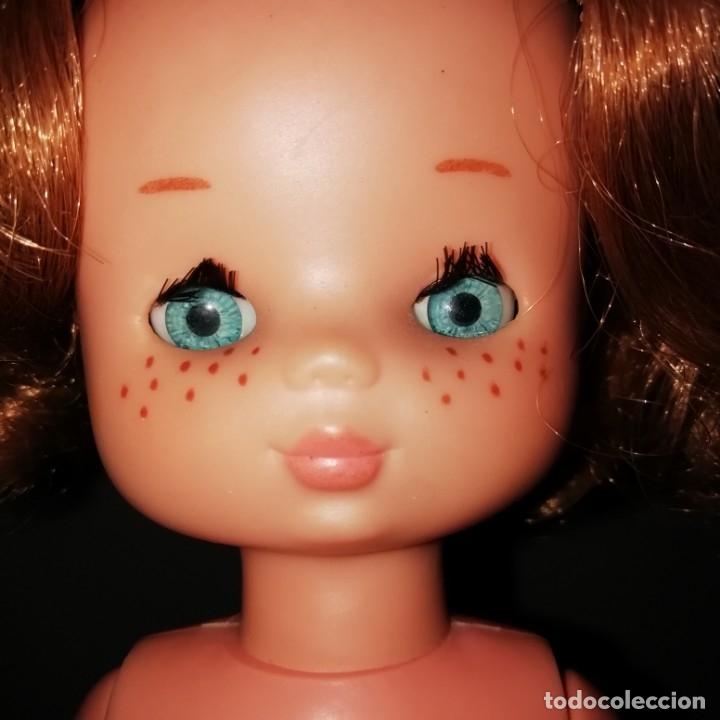 Muñecas Lesly de Famosa: Lesly pelirroja 10 pecas años 70 - Foto 3 - 172179568