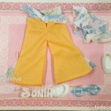 Bonecas Lesly da Famosa: CONJUNTO SONIA PARA NANCY NUEVO EN CAJA AÑOS 70. Lote 173863102