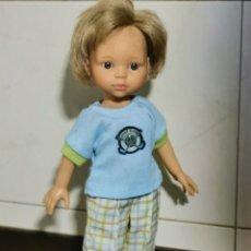 Muñecas Lesly de Famosa: BOTAS PARA PAOLA REINA TIPO ANTE. Lote 180045958