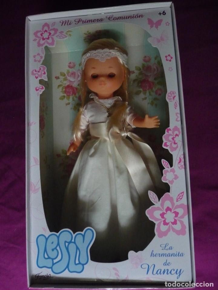 Muñecas Lesly de Famosa: Muñeca Lesly reedicion comunion nueva en caja descatalogada - Foto 3 - 181207168