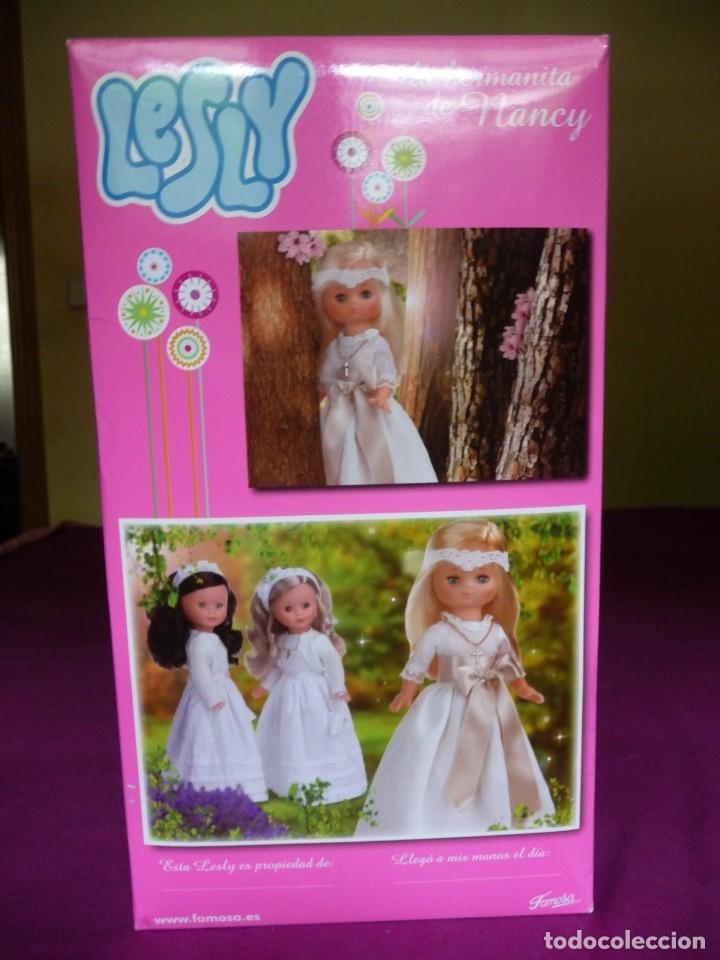 Muñecas Lesly de Famosa: Muñeca Lesly reedicion comunion nueva en caja descatalogada - Foto 7 - 181207168