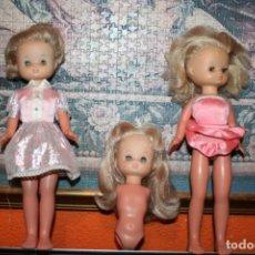 Muñecas Lesly de Famosa: LOTE DE 3 MUÑECAS LESLY. Lote 182107332
