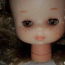Muñecas Lesly de Famosa: BONITA CABEZA DE LESLY DIEZ PECAS MUÑECA FAMOSA. Lote 182711476