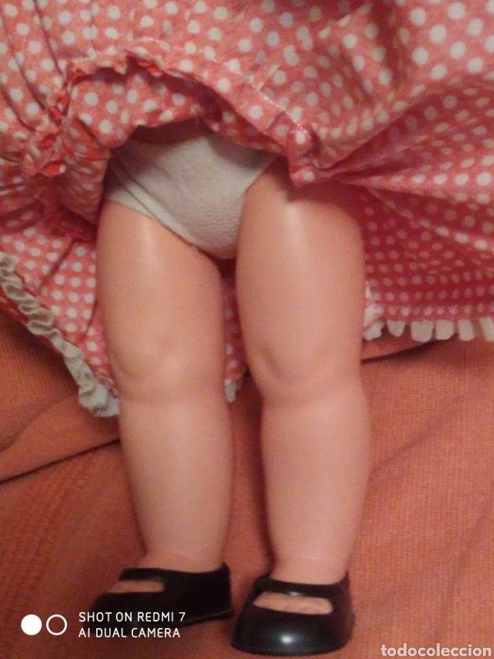 Muñecas Lesly de Famosa: Muñeca pitusa sevillana flamenca ojos azules años 70 - Foto 4 - 182806588