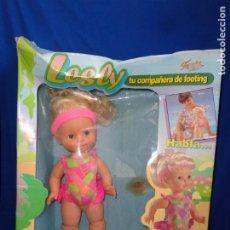 Muñecas Lesly de Famosa: LESLY - ANTIGUA MUÑECA LESLY TU COMPAÑERA DE FOOTING, AÑO 1993 VER FOTOS! SM. Lote 184873618