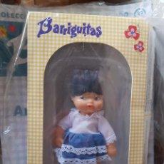 Muñecas Lesly de Famosa: MUÑECA BARRIGUITAS, ARGENTINA, CON FASCICULO A ESTRENAR. Lote 189776542