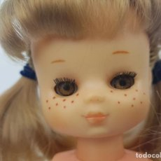 Muñecas Lesly de Famosa: MUÑECA LESLY CASTAÑA ARONA BRAZO DURO 8 PECAS DE FAMOSA. Lote 189900827