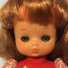 Muñecas Lesly de Famosa: LESLY (NANCY) 10 PECAS PELIRROJA CON CONJUNTO GALA AÑOS 70. Lote 190437912