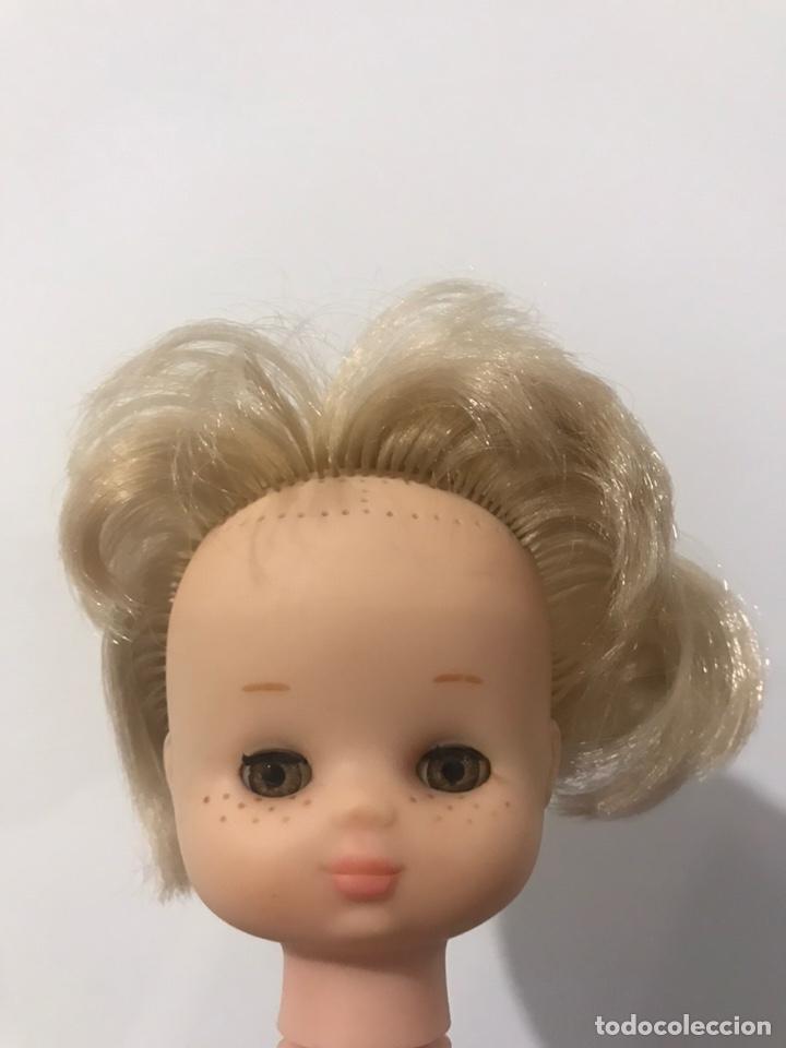 Muñecas Lesly de Famosa: Cabeza lesly para implante rociera (incluye pelo) - Foto 3 - 190534715