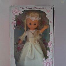 Muñecas Lesly de Famosa: LESLY MI PRIMERA COMUNION / AÑO 2016 / LA HERMANITA DE NANCY / FAMOSA. Lote 194080951
