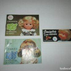 Muñecas Lesly de Famosa: DOS CATALOGOS LESLY + UNO BARRIGUITAS ~ FAMOSA. Lote 195715492