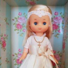 Muñecas Lesly de Famosa: LESLY NUEVA DE COMUNIÓN. Lote 196933490