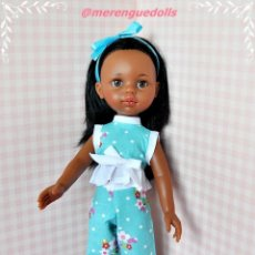 Muñecas Lesly de Famosa: CONJUNTO JARDÍN LESLY, PAOLA REINA O LES CHÉRIES. Lote 197971627