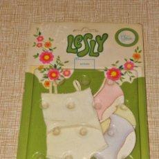 Bonecas Lesly da Famosa: BLISTER, SIN ABRIR, CON 4 BRAGAS Y UN TOP, ORIGINAL LESLY DE FAMOSA. Lote 198938857