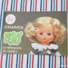 Muñecas Lesly de Famosa: LESLY, CATALOGO. Lote 205550281