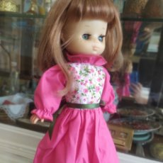 Muñecas Lesly de Famosa: VESTIDO ROSA FLORES IBIZA VÁLIDO A LESLY. Lote 205713716
