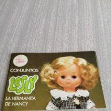 Muñecas Lesly de Famosa: CATÁLOGO LESLY. CONJUNTOS. 1.978.. Lote 206217420