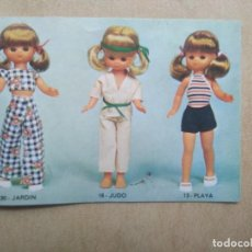 Muñecas Lesly de Famosa: CATALOGO LESLY, LE FALTA LAS TAPAS. Lote 206884613