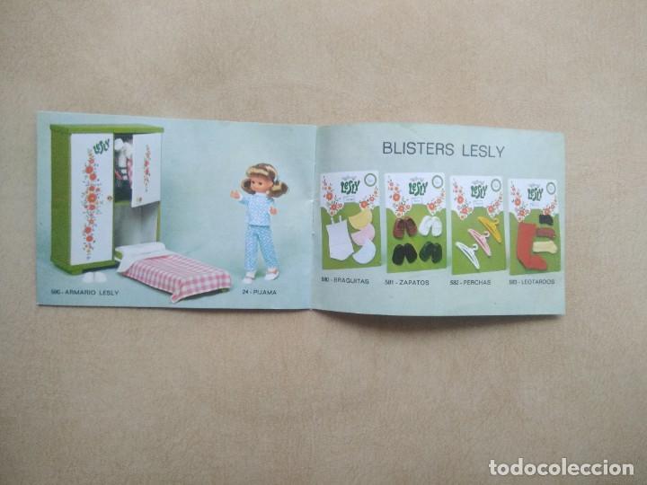 Muñecas Lesly de Famosa: Catalogo lesly, le falta las tapas - Foto 4 - 206884613