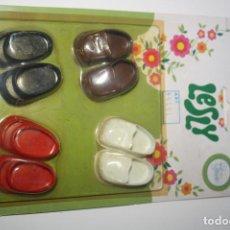 Muñecas Lesly de Famosa: LESLY BLISTER ZAPATOS NANCY PIE PEQUEÑO. Lote 207154851
