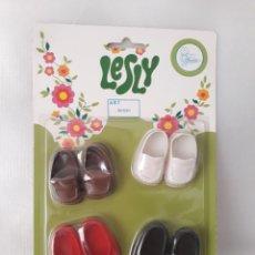 Muñecas Lesly de Famosa: ZAPATOS ENVIO GRATIS. Lote 211430410