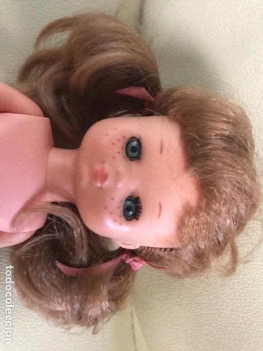 Muñecas Lesly de Famosa: Preciosa !!! LESLY PELIROJA CON ALGO FLEQUILLO años 70 9 y 10 pecas!!! MUY BUE ESTADO - Foto 10 - 211574115