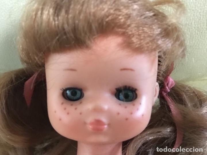 Muñecas Lesly de Famosa: Preciosa !!! LESLY PELIROJA CON ALGO FLEQUILLO años 70 9 y 10 pecas!!! MUY BUE ESTADO - Foto 12 - 211574115