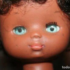 Bonecas Lesly da Famosa: CABEZA MUÑECA LESLY NEGRITA NEGRA ORIGINAL. Lote 212074427