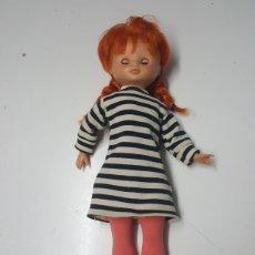 Muñecas Lesly de Famosa: MUÑECA PIPA LESLY PIPPI CALZASLARGAS AÑOS 70 OJOS MARGARITA. Lote 213734547