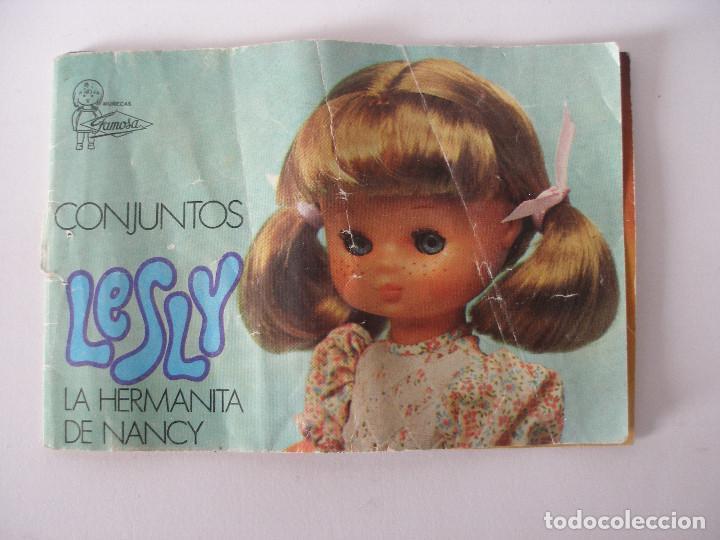 CATÁLOGO CONJUNTOS LESLY 1976 (Juguetes - Muñeca Española Moderna - Lesly)