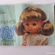Muñecas Lesly de Famosa: CATÁLOGO CONJUNTOS LESLY 1976. Lote 114502691