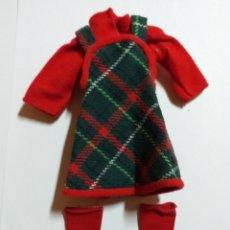 Bonecas Lesly da Famosa: VESTIDO LESLY ORIGINAL AÑOS 70 MODELO OTOÑO. Lote 219847545