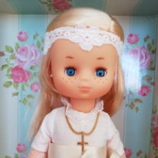 Muñecas Lesly de Famosa: LESLY DE COMUNIÓN, NUEVA A ESTRENAR. Lote 222379077