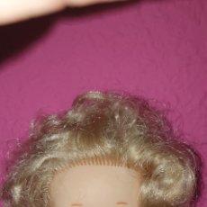 Muñecas Lesly de Famosa: CABEZA DE LESLY RUBIA DE 1O PECAS AÑOS 70. Lote 224844191