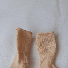 Muñecas Lesly de Famosa: LESLY CALCETINES BEIGE ORIGINALES. Lote 227104970