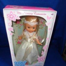 Muñecas Lesly de Famosa: LESLY - MUÑECA LESLY DE FAMOSA COMUNIÓN REEDICIÓN, EN CAJA! SM. Lote 229074325