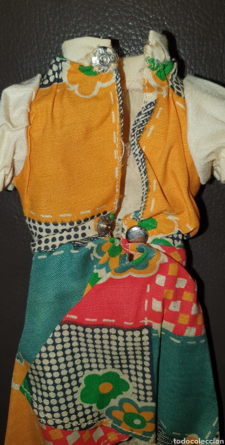 Muñecas Lesly de Famosa: PRECIOSO VESTIDO LESLY DE FAMOSA AÑOS 70 NO LLEVA ETIQUETA - Foto 4 - 232076500