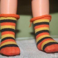 Muñecas Lesly de Famosa: CALCETINES ORIGINALES MUÑECA LESLY JACKAR. Lote 236880365