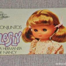 Muñecas Lesly de Famosa: CATALOGO LESLY LA HERMANITA DE NANCY AÑO 1976 FAMOSA. Lote 240741950