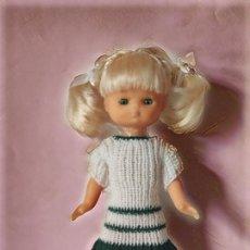 Muñecas Lesly de Famosa: VESTIDO LANA PARA LESLY (REPLICA). Lote 243588500