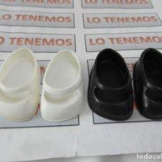 Muñecas Lesly de Famosa: LOTE DE ZAPATOS BLANCO Y NEGRO PARA LESLY FAMOSA.. Lote 244414065