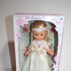 Muñecas Lesly de Famosa: LESLY HERMANITA DE NANCY - MI PRIMERA COMUNION - COLECCION 2016. Lote 245006855